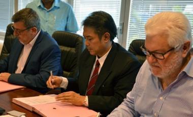 Signature d'un protocole d'entente porteur d'espoirs à l'export.