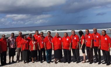 Les membres du FIP réuni à Nauru.