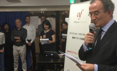 Dans son discours, Bernard Deladrière s'est félicité de « ce renforcement des liens d'amitié et d'échanges entre le Japon et la Nouvelle-Calédonie ».