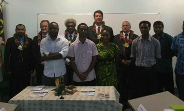 L'ouverture de la formation en français sur objectifs spécifiques s'est déroulée le 16 avril à l'IFAP de Port-Vila.
