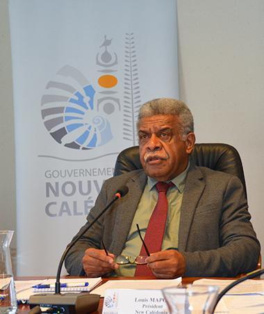 Le président du gouvernement Louis Mapou a participé à la visioconférence de la 51e réunion des dirigeants du Forum des Îles du Pacifique (FIP).