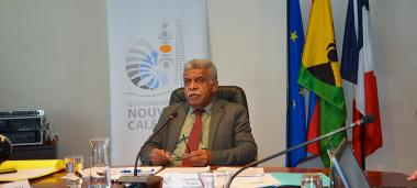 The President of the Government, Louis Mapou participated in  the 51st Pacific Islands Forum (PIF) Leaders Retrat via videoconference