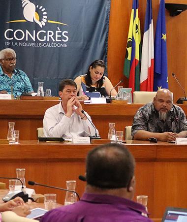 Réunis en séance mercredi 18 novembre, les élus du Congrès ont adopté le projet de délibération qui autorise le président du gouvernement Thierry Santa à signer l'avenant à l'accord particulier.