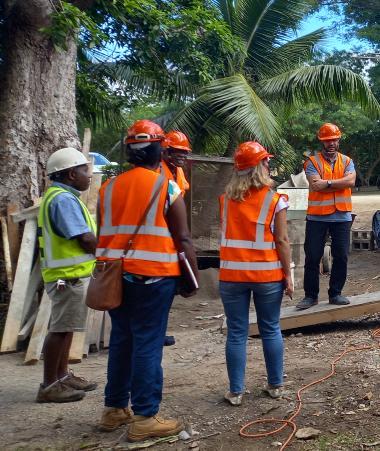 Le chantier de l'Université nationale du Vanuatu bat son plein. Elle est financée par l'AFD, le gouvernement du Vanuatu et celui de la Nouvelle-Calédonie notamment dans le cadre de la convention tripartite