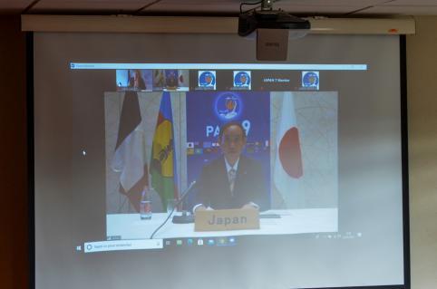 L'entretien avec le premier ministre japonais a eu lieu la veille du Palm 9.