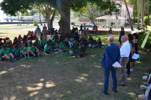 Plusieurs classes d'établissements du Grand Nouméa ont assisté aux Journées francophones du Pacifique.