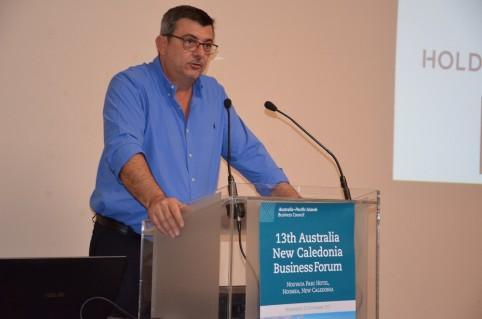 Il s'agit du troisième forum des affaires Australie-Nouvelle-Calédonie auquel Philippe Germain assiste depuis son élection à la présidence du gouvernement en 2015.