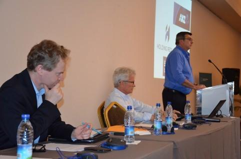 Philippe Germain a ouvert le forum aux côtés de Paul Wilson, consul général d'Australie et de Denis Etournaud, vice-président de l'APIBC.