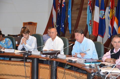 « Il s'agit de construire un développement durable et résilient des économies des PTOM face au fléau du changement climatique », avait déclaré le président du gouvernement, Thierry Santa, lors du COPIL de juillet.