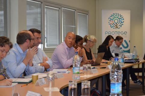 « L'objectif final de PROTEGE est de renforcer et de pérenniser la coopération calédonienne avec les PTOM de la région et d'identifier de possibles pistes de collaboration avec les pays ACP (Afrique, Caraïbes et Pacifique) », a soulignéCédric Chan-Yone,