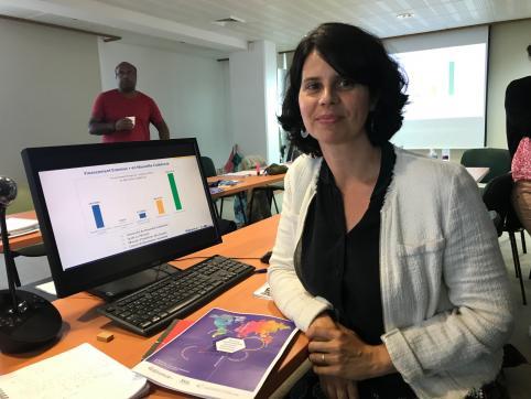 Audrey Mace Rousseau, chargée de promotion secteur scolaire.