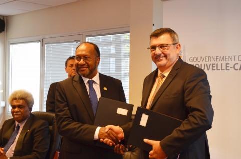 Philippe Germain n'a pas manqué de rappeler que le Premier ministre Salwai avait été l'un des soutiens les plus actifs en faveur de l'adhésion calédonienne au Forum des Îles du Pacifique.