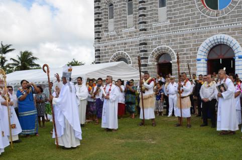La messe d'ordination a été célébrée à la cathédrale de Mata-Utu.