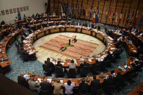 La CPS a fait salle comble lors de cet échange entre la France et les pays océaniens.