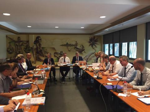 Comité de suivi entre l'État et les PTOM français, le 26 février.