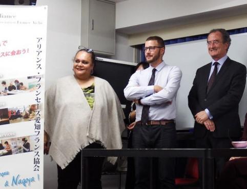Des représentants du Creipac, d'Aircalin et de NCTPS ont assisté à l'inauguration.