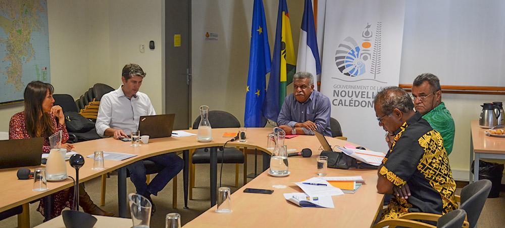 L'entretien entre le président du gouvernement et l'ambassadeur de l'Union européenne pour le Pacifique s'est déroulé le 24 août.