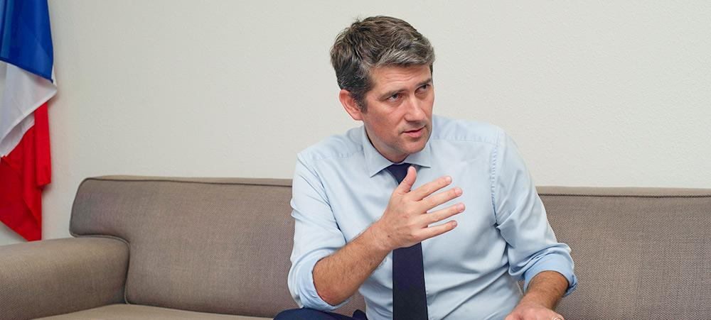 François Behue a déjà exercé dans la région Pacifique, entre 2007 et 2009, en tant que chargé de mission auprès du Préfet de Wallis-et-Futuna pour le suivi des affaires territoriales, européennes et régionales (© Peter Tandt).