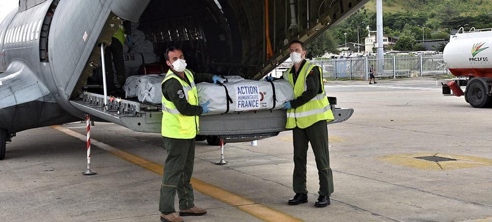 Le matériel livré le mardi 30 mars aidera la Papouasie Nouvelle-Guinée, longtemps épargnée par le Covid-19, à lutter contre l'émergence récente de cas positifs.