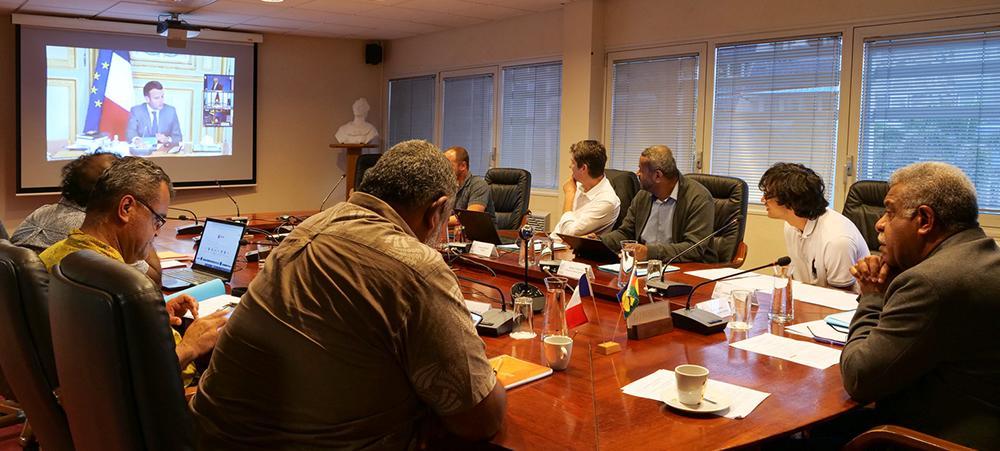 Le président du gouvernement Louis Mapou a représenté la Nouvelle-Calédonie au 5e Sommet France-Océanie.