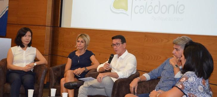 """Le 1er février dernier, Jean-Marc Mocellin, DG de NCTPS, a expliqué comment la Nouvelle-Calédonie était devenue une destination """"China Ready""""."""